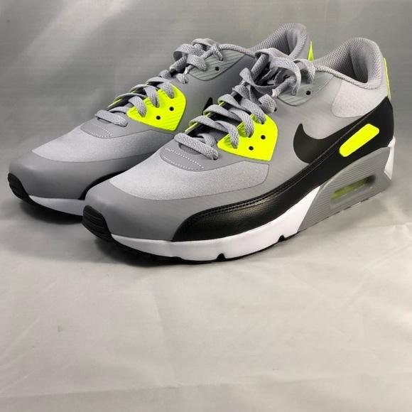 sports shoes a8922 8a041 Nike Men's Air Max 90 Ultra Grey Volt BLK Size 11
